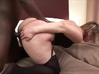 MATURE SEX FREAK FUCKED BY BBC