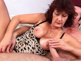 Mature Prostitute Satisfies..
