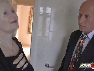 grandma fucks the real..