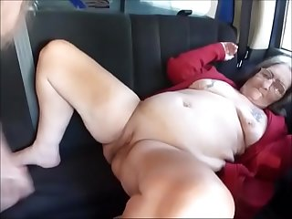 Street whore granny fucked..