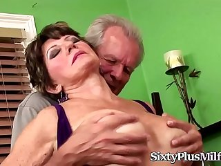 Mature Slut Fucked by a..