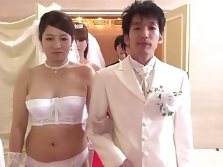 Japanese Mom And Son Wedding..