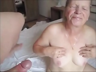 Grandma Sucking Young Dick..