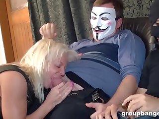 Dirty Granny Steps Into..