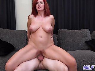 MILFTRIP Big Tit Redhead..