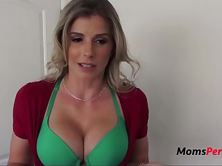 Blonde MOM Forces SON Chory..