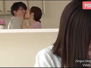 Japanese Mom Seduces Her..