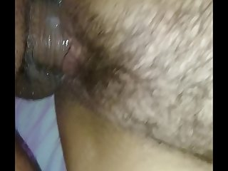 Wife creampie pussy dripping..