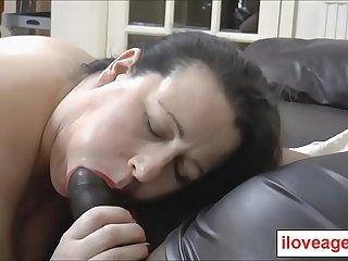 A nice big facial on horny..