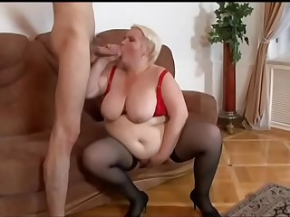 Stud bangs a hot blond..