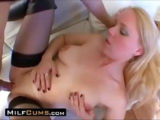 MilfCums.com  Big Clit Mom..