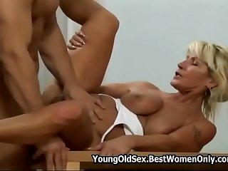 Hairy Hot Mature Fucks Young..