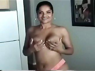 Hot slut wife shows off