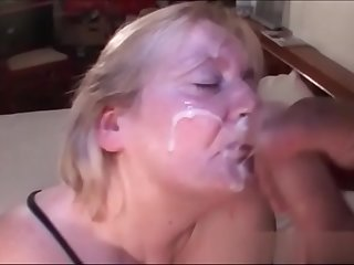 Hot Granny Taking a Big Load..
