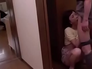Japanese husband cheating..