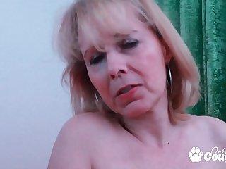 Horny Granny Kolo Blond..