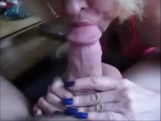 Red Lips Granny Suck Dick..