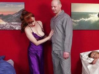 Redhead cfnm aged makes man..