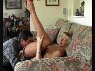 Dirty Mommy In Nylons Gets..