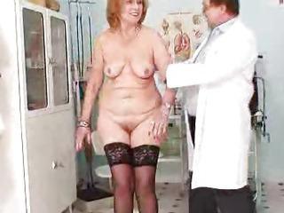 Redhead gran pussy gaping at..