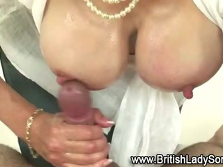 Busty mature Lady Sonia..