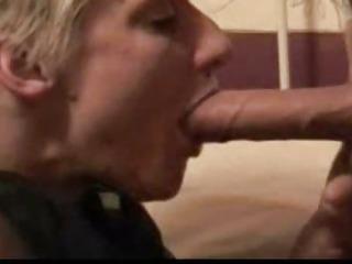 Amateur deepthroat