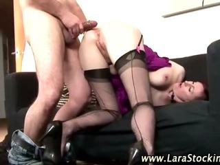 Slutty mature stockings..