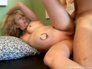Naughty MILF patient fucks..