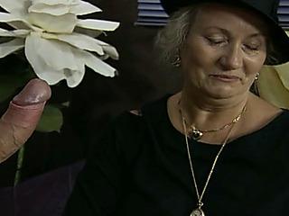 german mature granny widow..