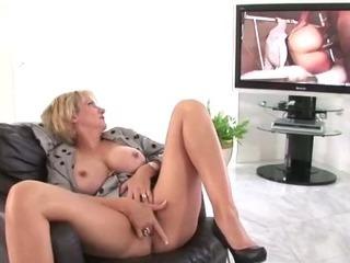 Nasty mature stockings slut..