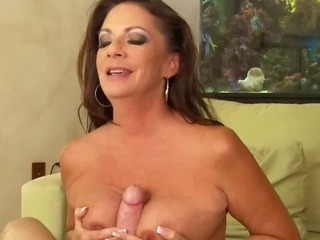 Slutty MILF Sucks Sons..