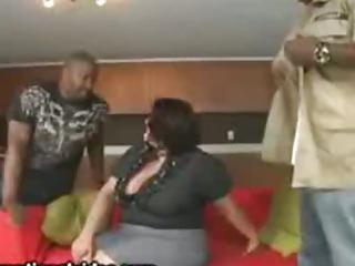 Big Tit Latina Wife Fucks 2..