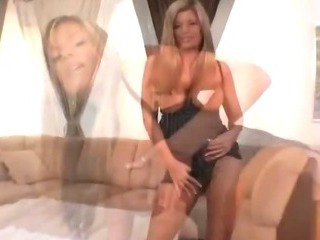 Sexy cougar with big tits..