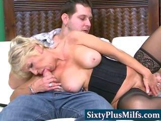 Grandma wants to be a pornstar