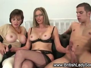 Foxy mature blonde fuck
