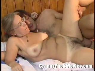 Granny Betsy giving Jos a..
