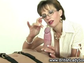 Femdom dirty mature brit..