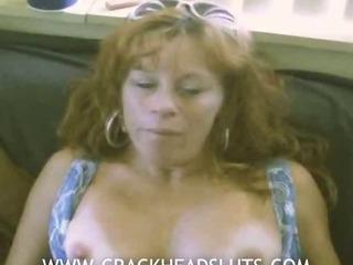 Mature crackhead in sex..