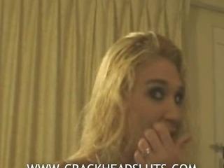 Crackhead blonde interviewed..