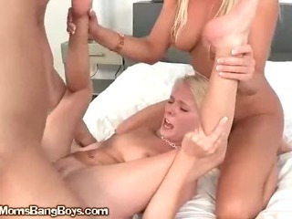 MILF Shows Teen How To Fuck..