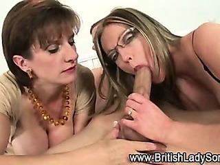 Pass the penis bj british..