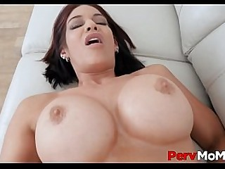 Hot MILF Step Mom Huge Boobs..