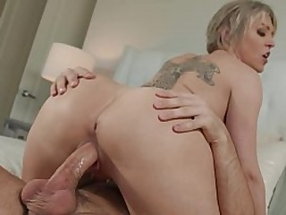 Horny Step Mom Titty Fucks..