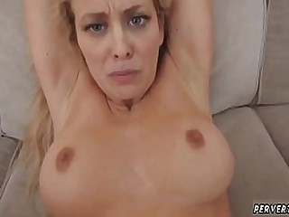 Mom milf handjob..