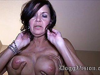 Wrinkly milf Fucked by..