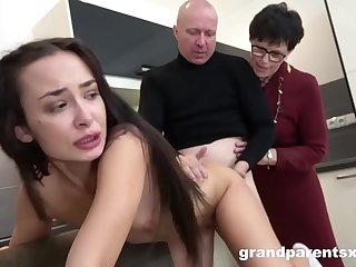 Creepy Old Couple Gives Sex..
