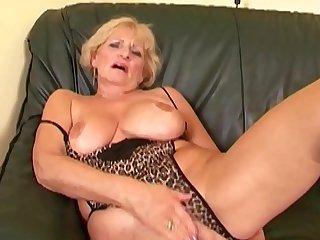 Grandma Puts On Her Sexiest..