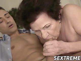 Promiscuous grandma rides..