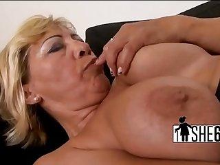 Dark cock stretching white..