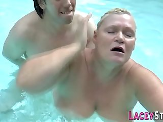Lacey Star gets her old cunt..